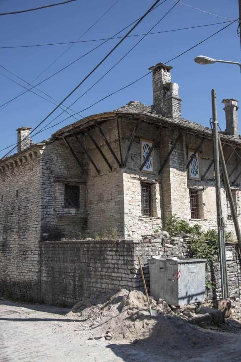 Oud Hoekhuis - Fotoreis Albanië
