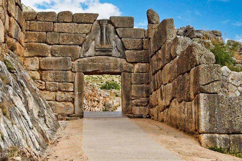 Archeologiereizen Mycenae Lion Gate