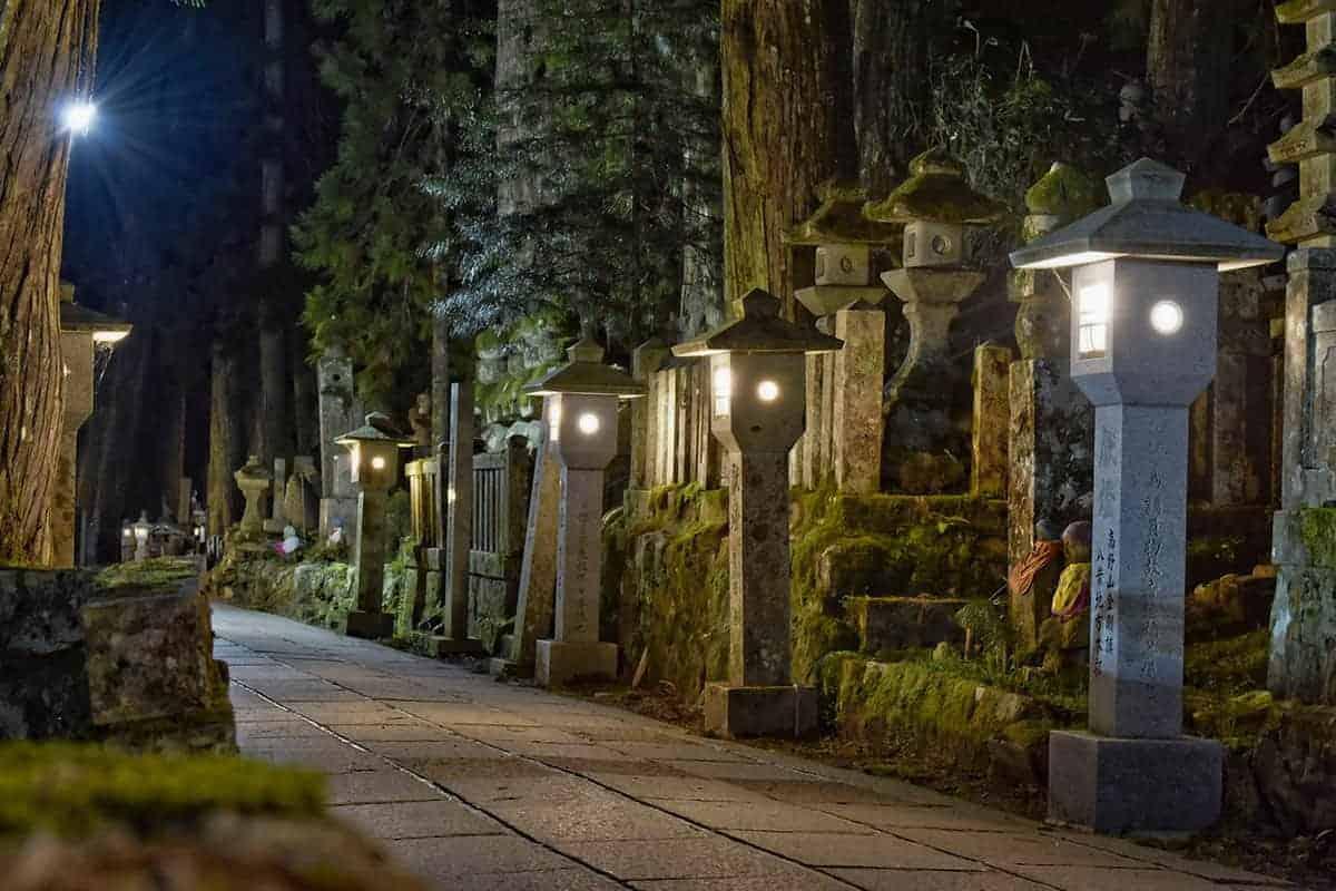 Begraafplaats Kyosan Fotoreis Japan