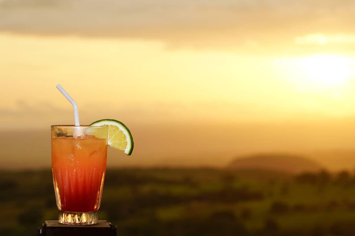 Buena Vista lodge cocktail