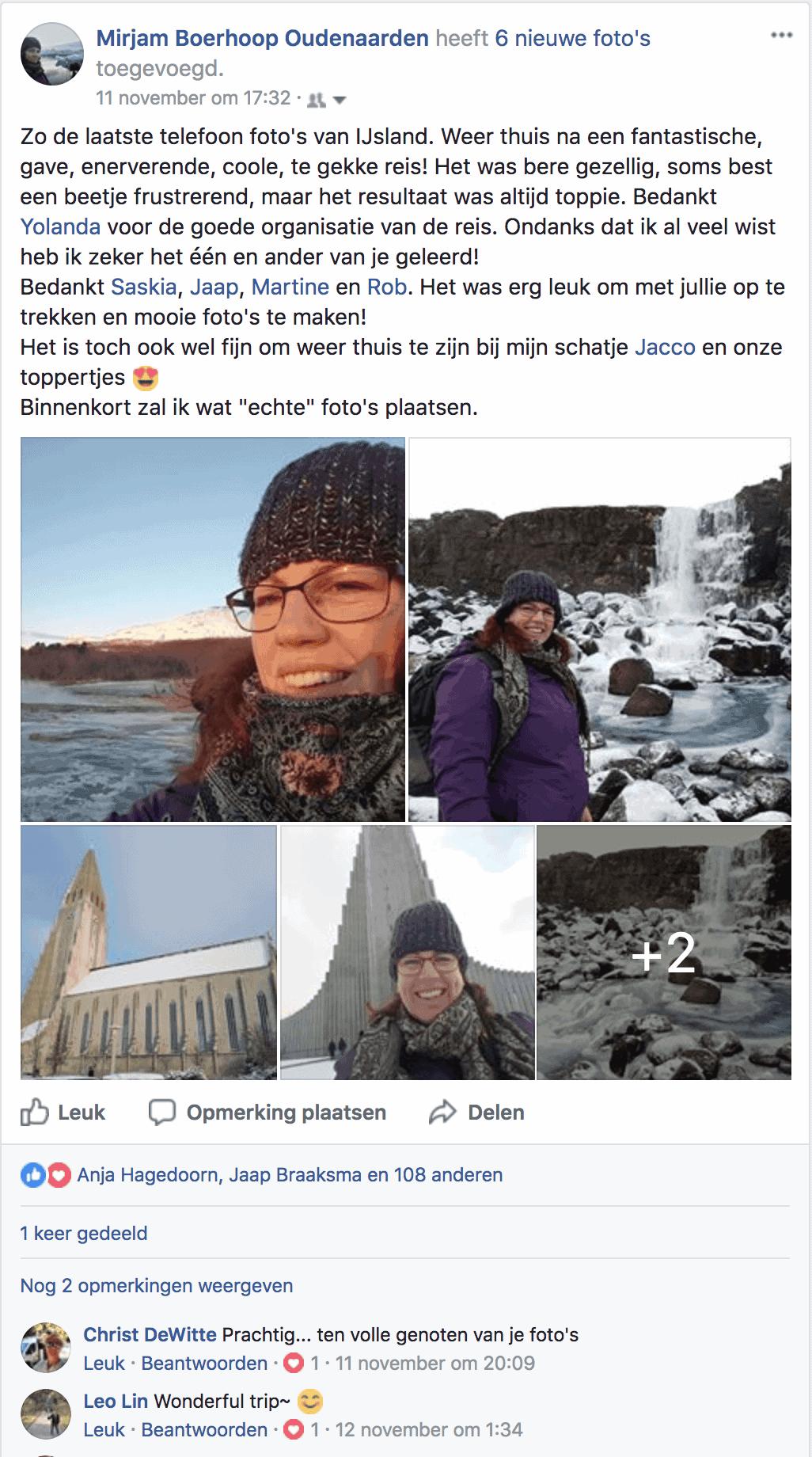 Facebook Mirjam