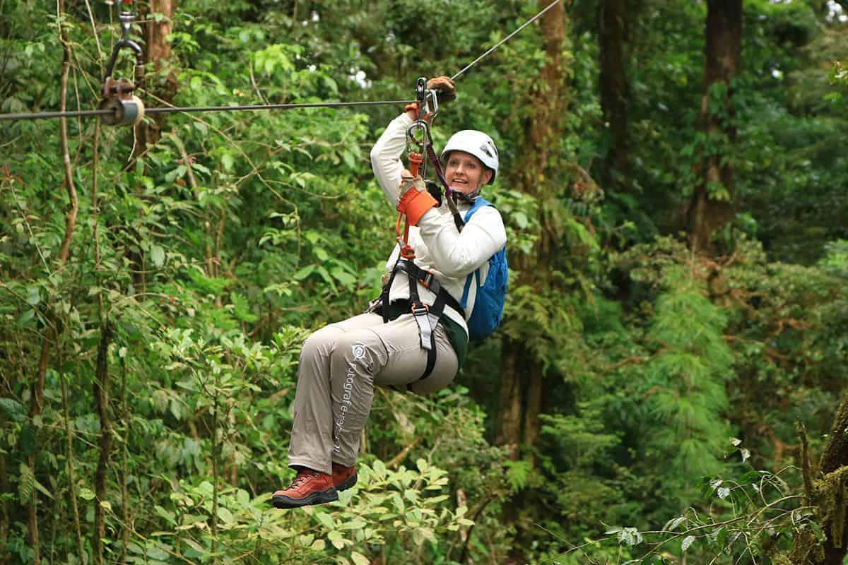 Familie Fotoreizen Canopy Fotoreis Costa Rica