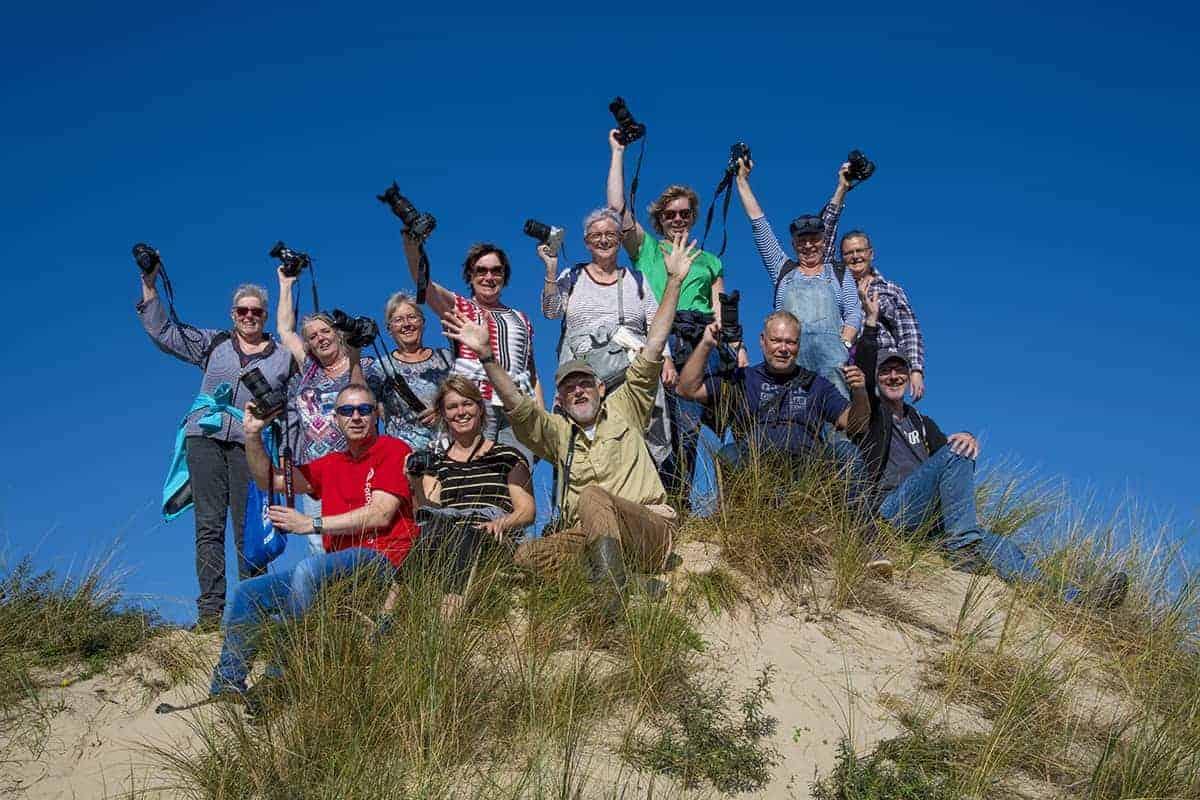 Fotoclub Fotoreizen - Groepsfoto Ameland