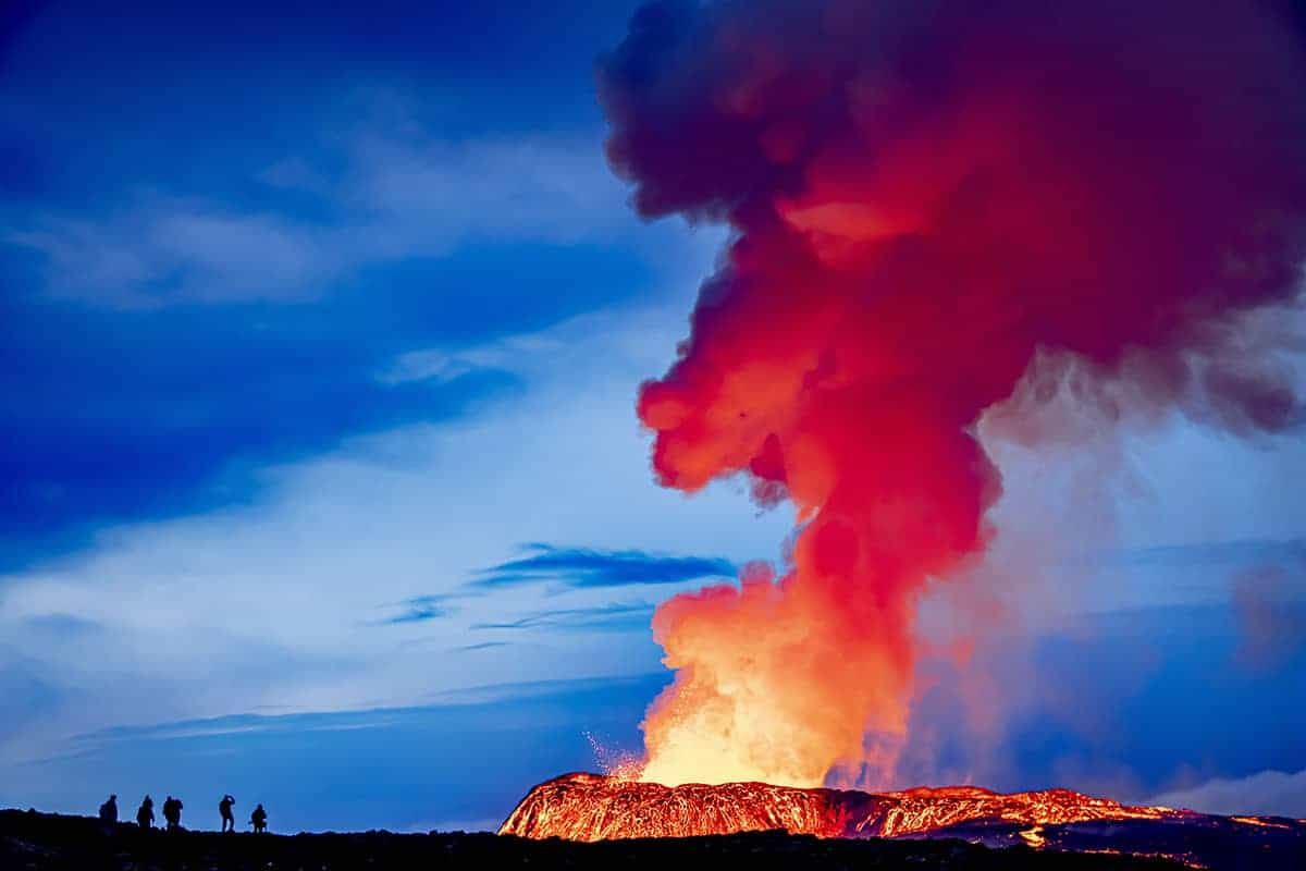 Fotografie reis IJsland Fagradalsfjall vulkaan