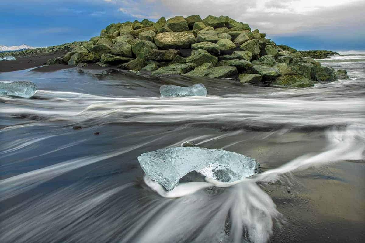 Fotografiecursus IJsschotsen met terugtrekkend water