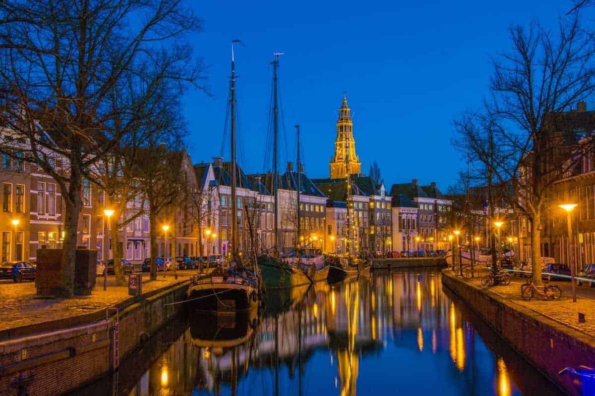 Fotografiecursus Workshop Avondfotografie Vissersbrug Groningen