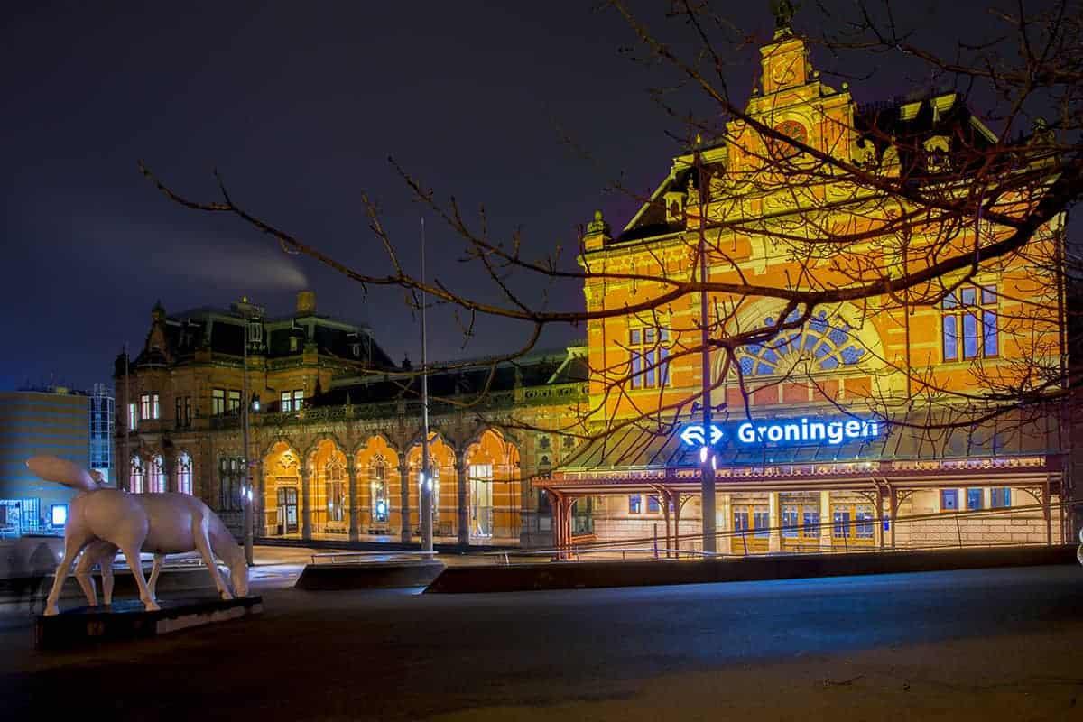Fotografiecursus Workshop Avondfotografie Hoofdstation Groningen