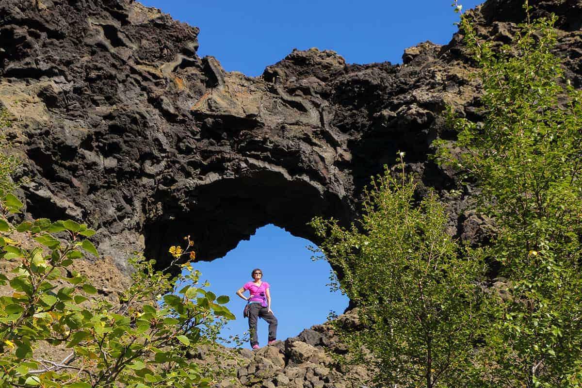 Fotografiereizen Noord IJsland Dimmuborgir