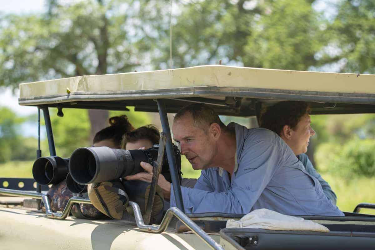 Fotoreizen Afrika Tanzania Ron fotografeert wildlife