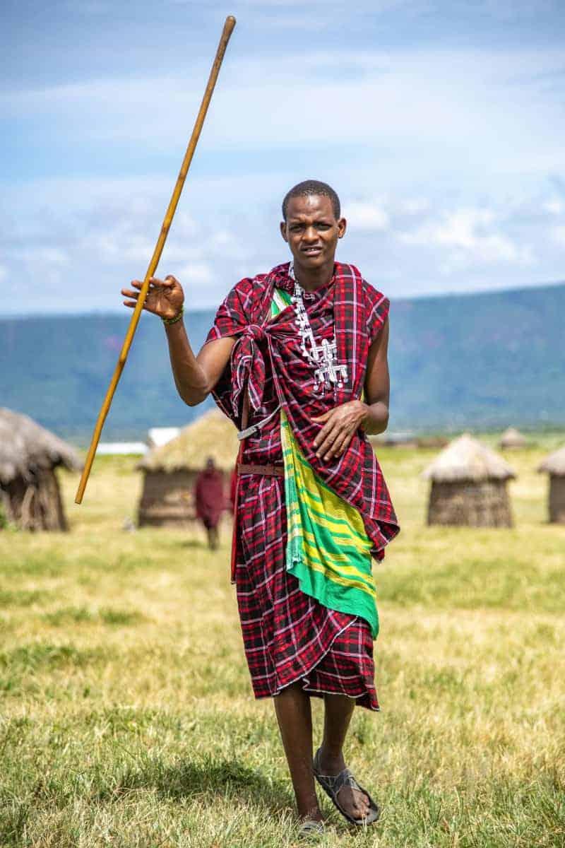 Fotoreizen Afrika Masai krijger in Tanzania