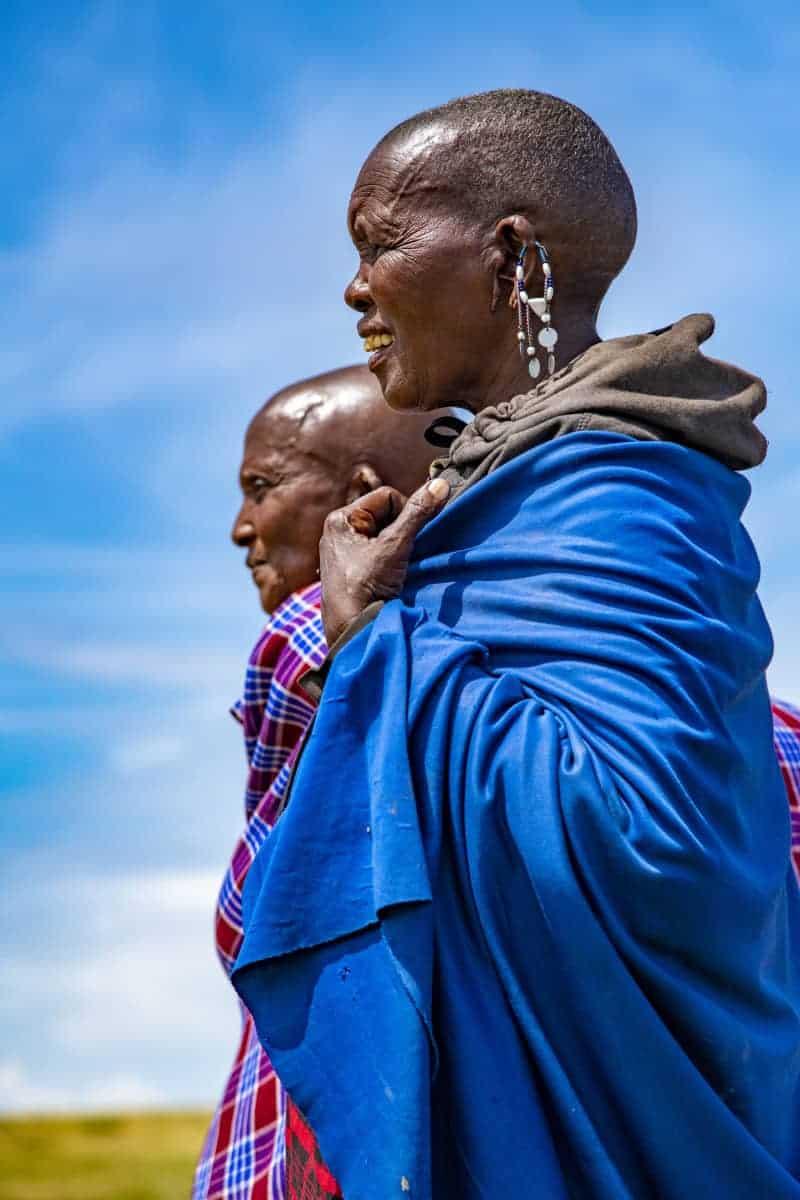 Masai vrouw fotoreis Tanzania Afrika