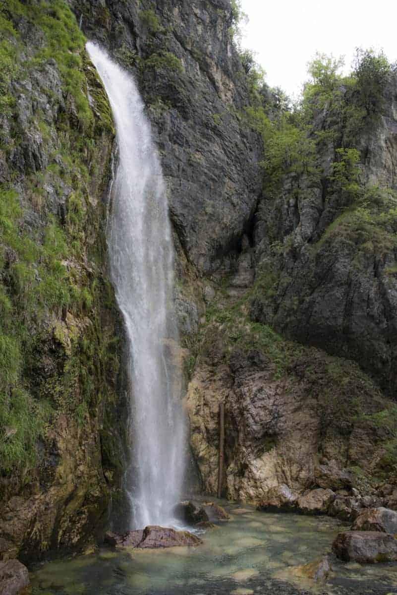 Fotoreis Albanie Theth waterval