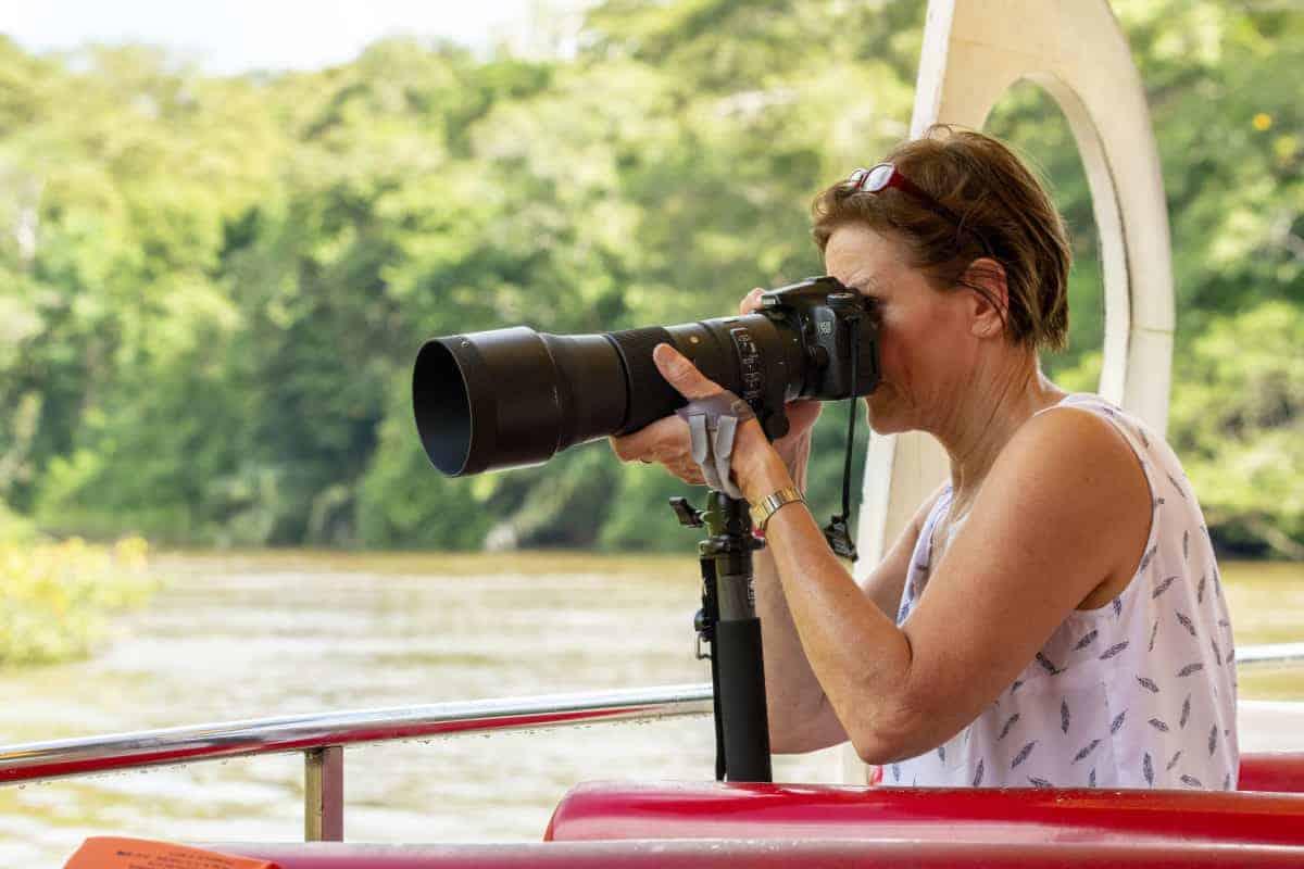 Fotograferen vanaf een boot Fotoreis Costa Rica