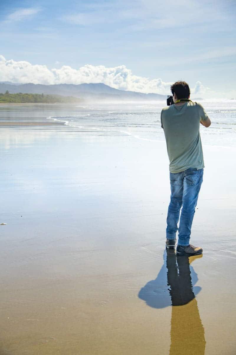 Fotoreis Costa Rica op het strand van Matapalo