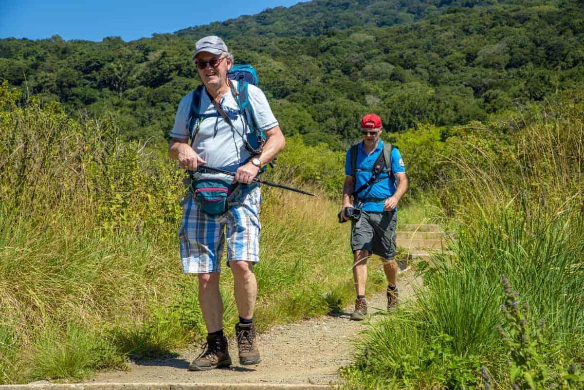 Dirk en Dick bij Rincon de la Vieja Costa Rica