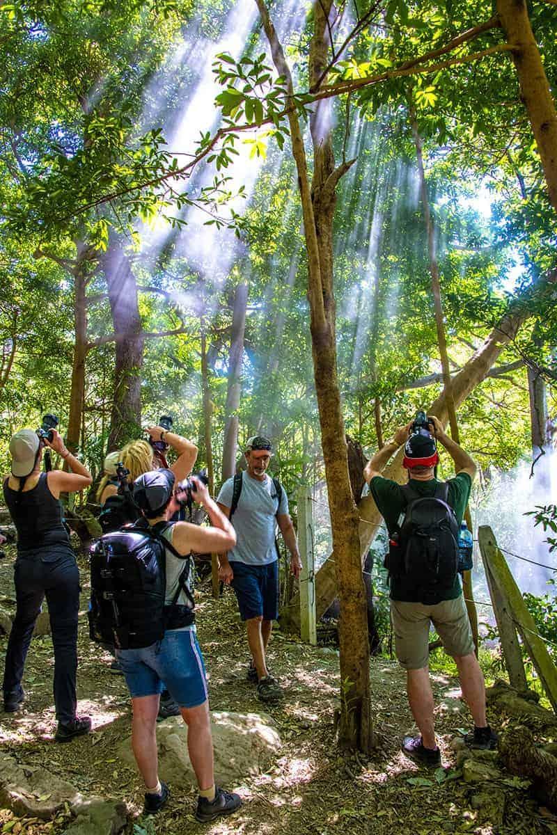 Fotoreis Costa Rica - fotograferen lichtstralen