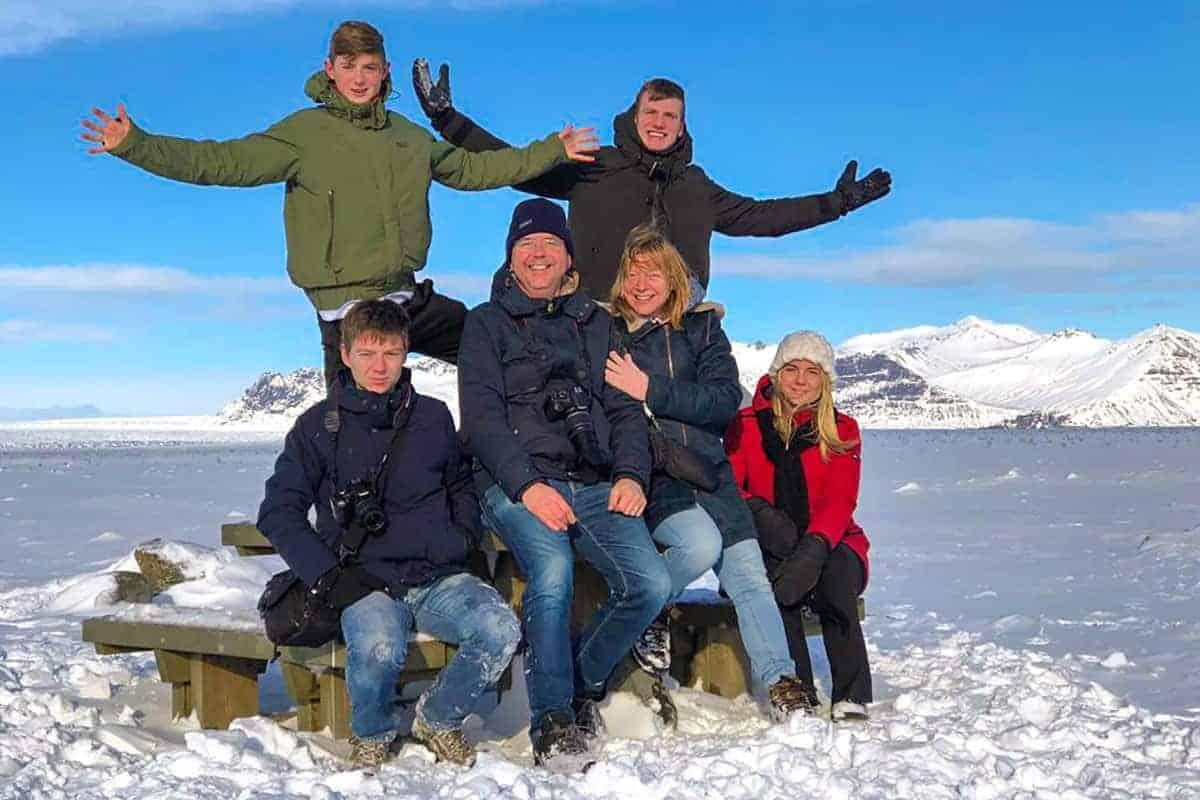 Fotoreis IJsland - Familie Tielens