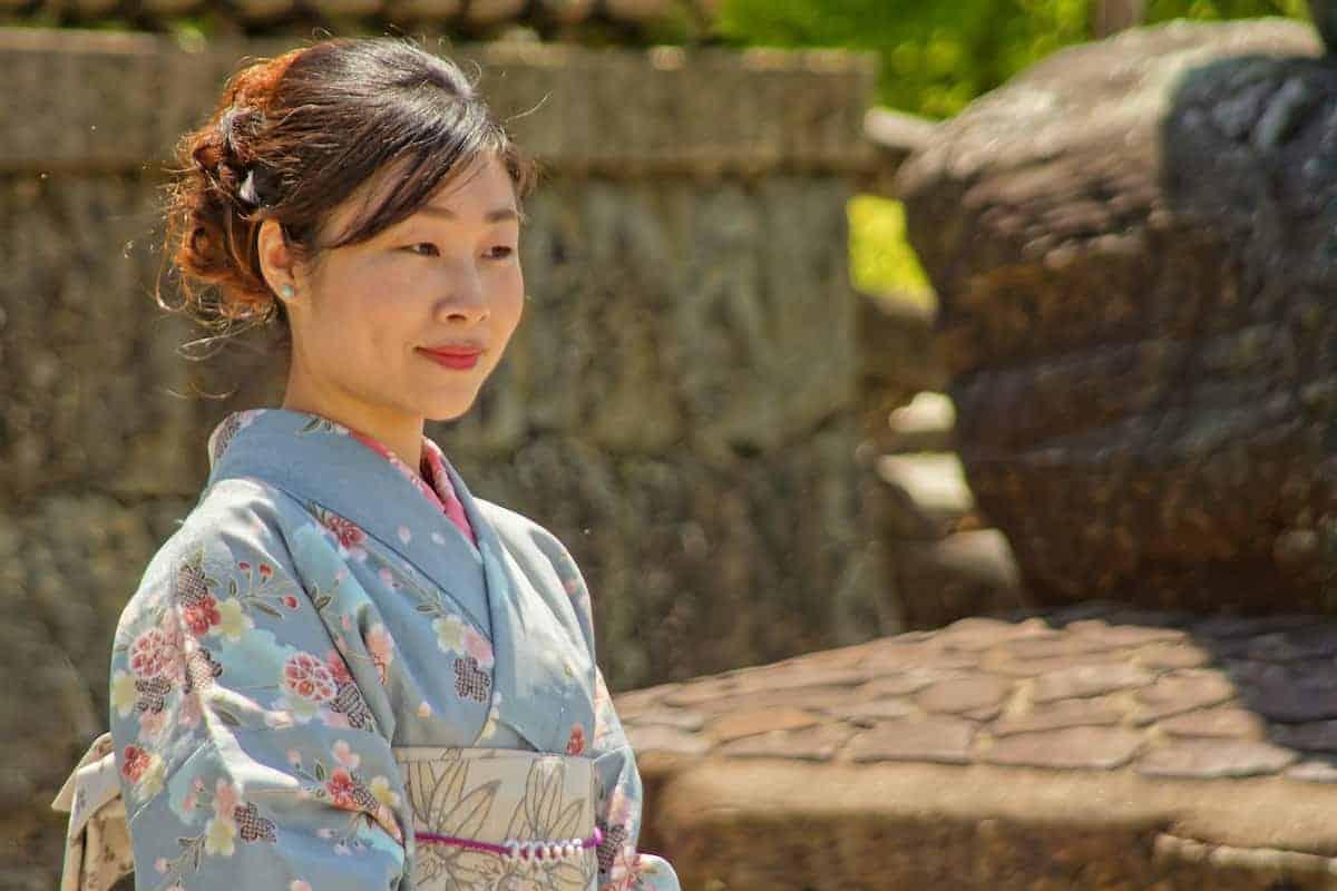 Fotoreis Japan Japanse vrouw