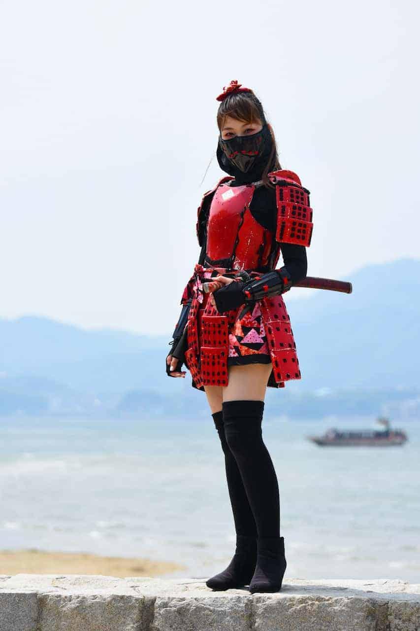 Cosplay tijdens de fotoreis Japan