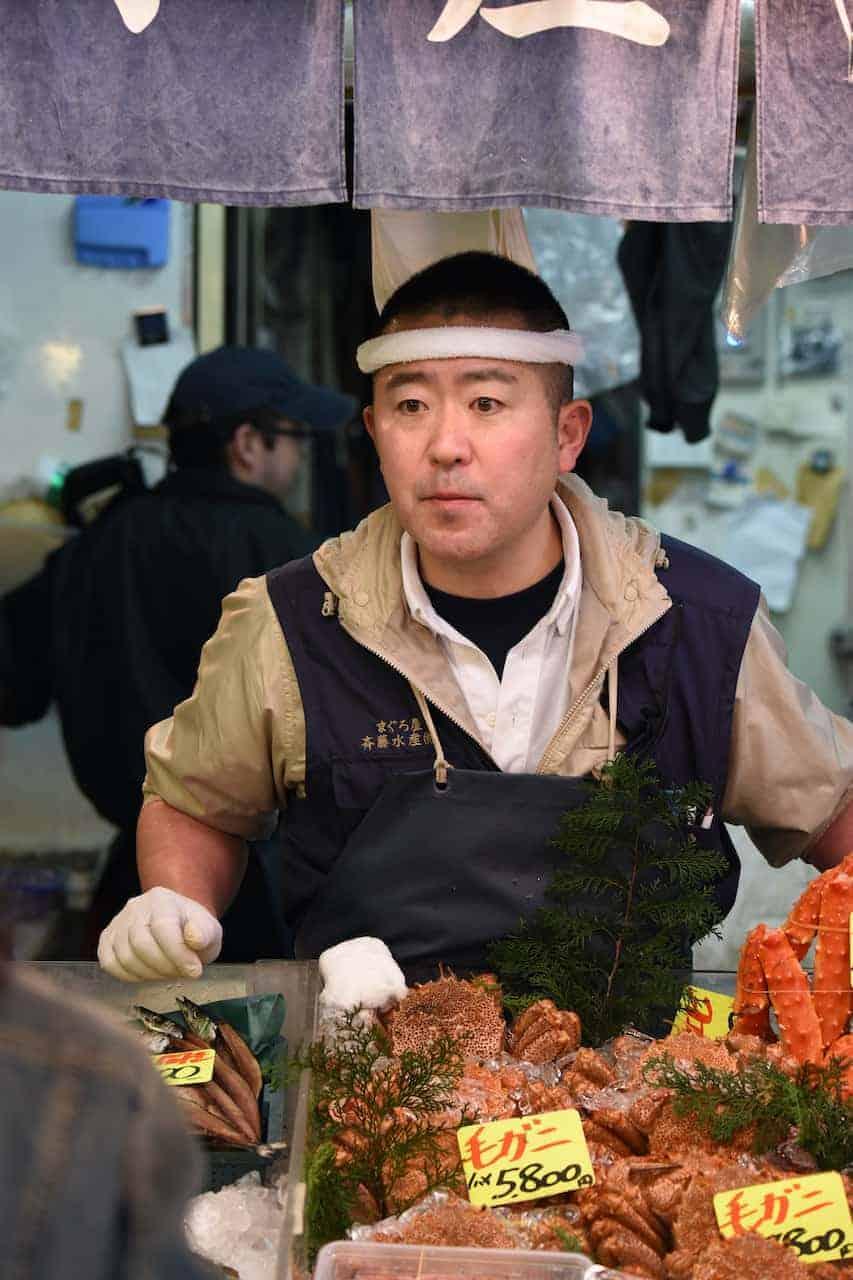 Japans marktkoopman