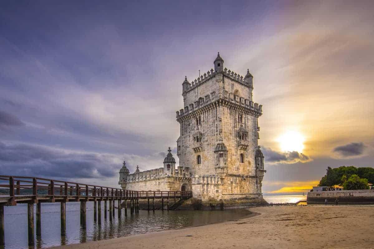 Torre de Belem fotoreis Lissabon