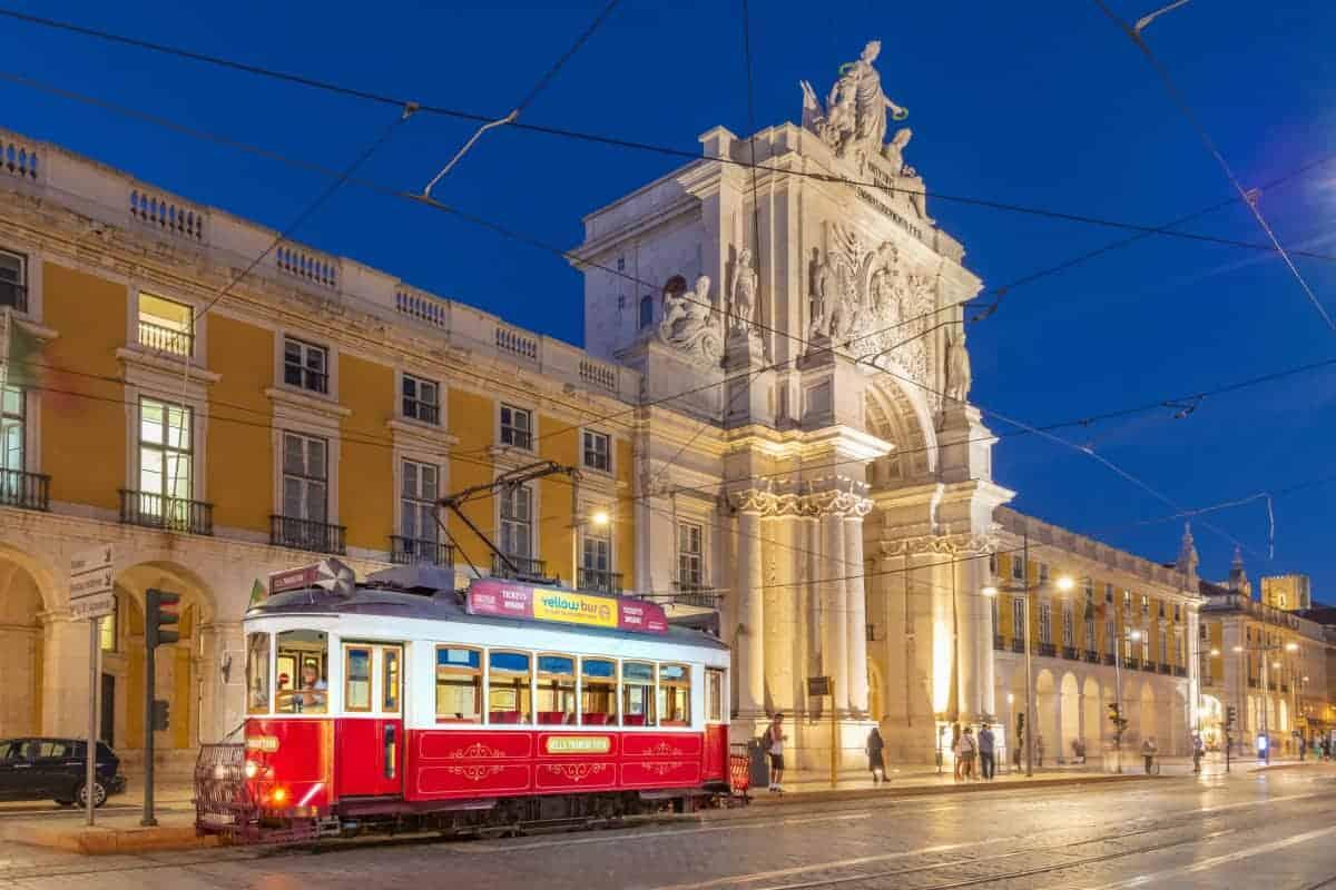 Avondfotografie tijdens de fotografiereis Lissabon