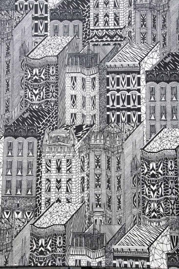 Fotoreis New York muurschildering