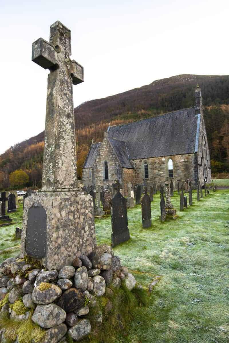 Fotoreis Schotland kerkje bij Ballachulish