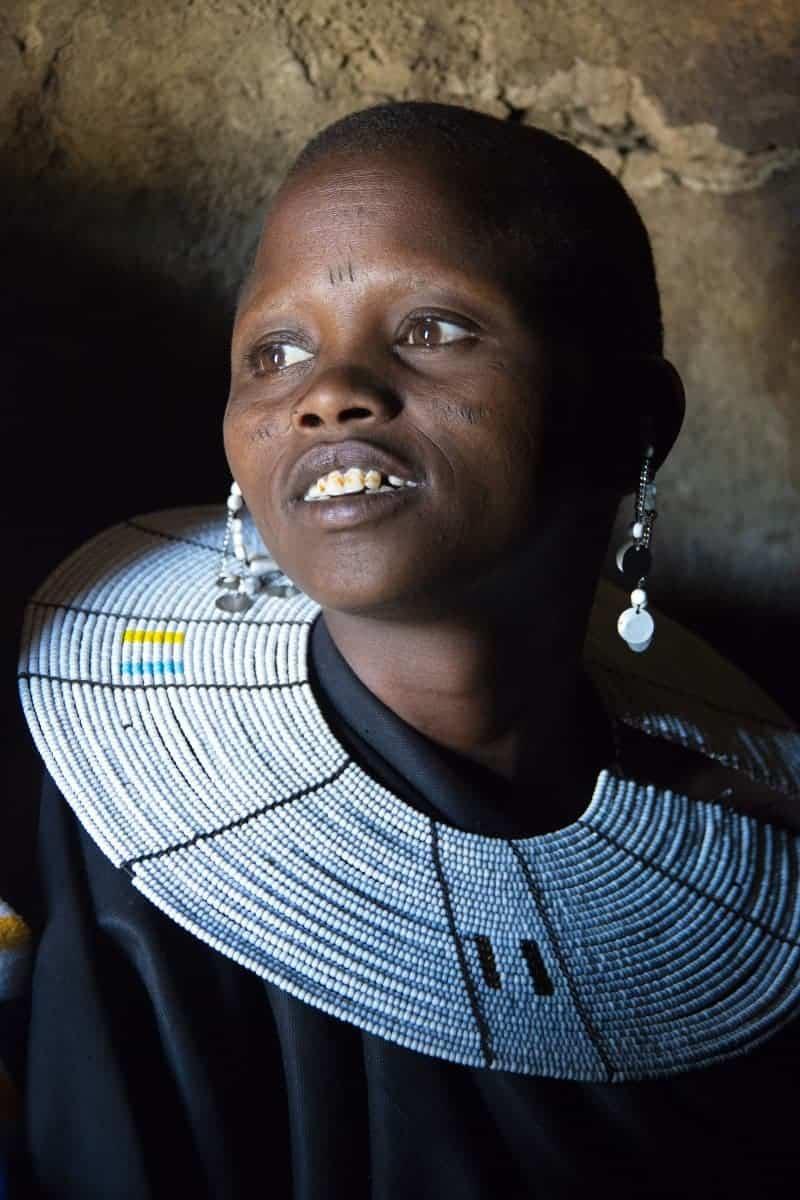 Fotoreis Tanzania Masai Mara vrouw