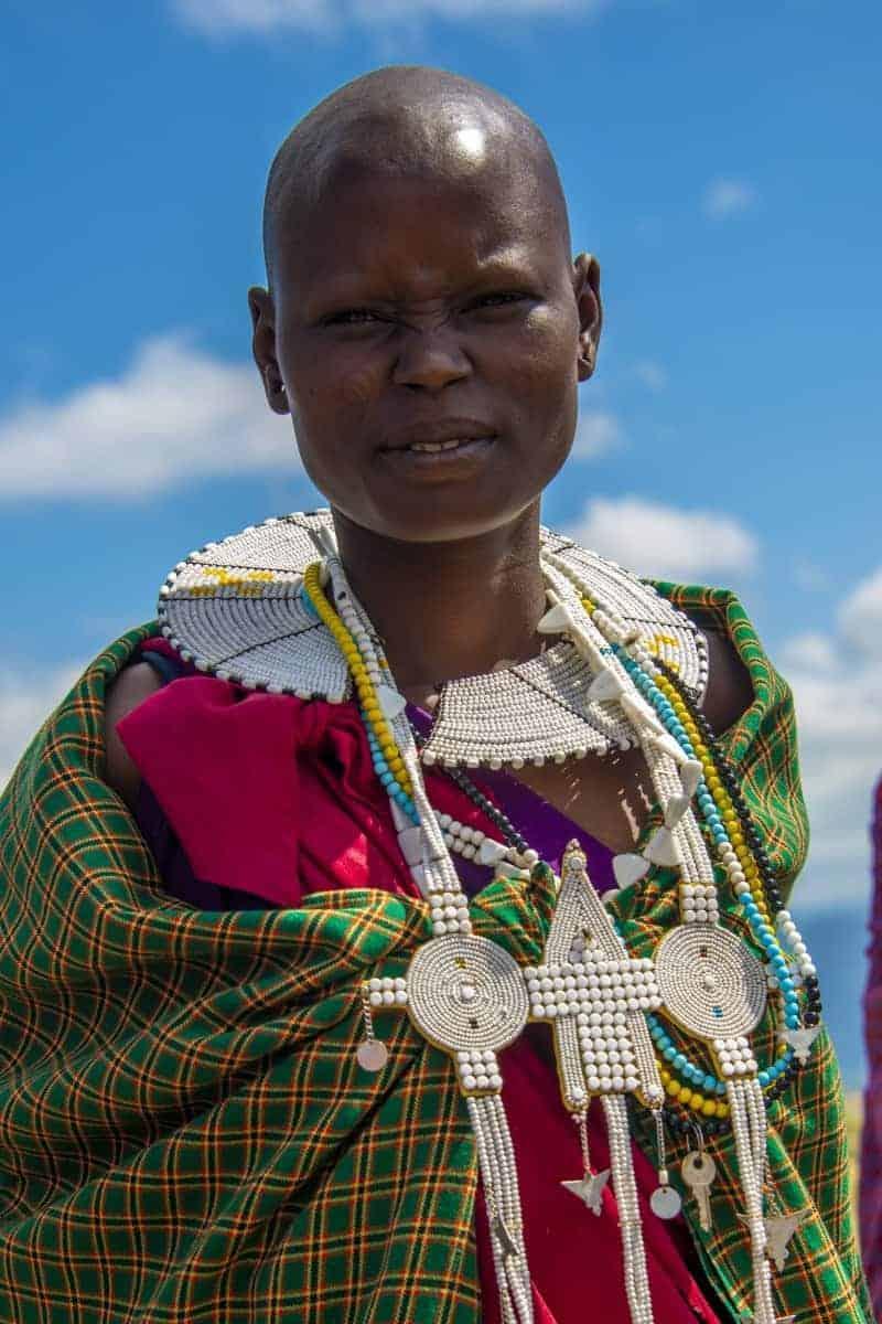 Fotoreis Tanzania Masai vrouw