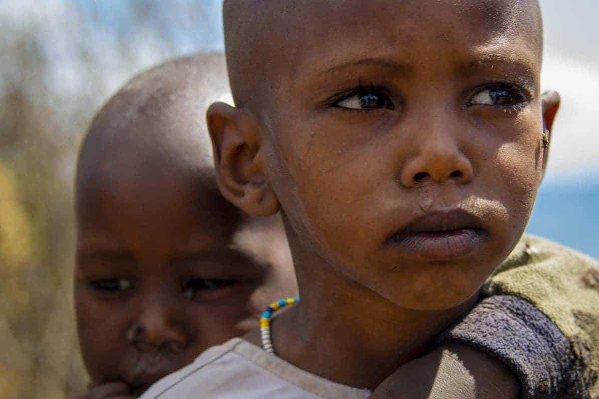 Fotoreis Tanzania - Masai kinderen