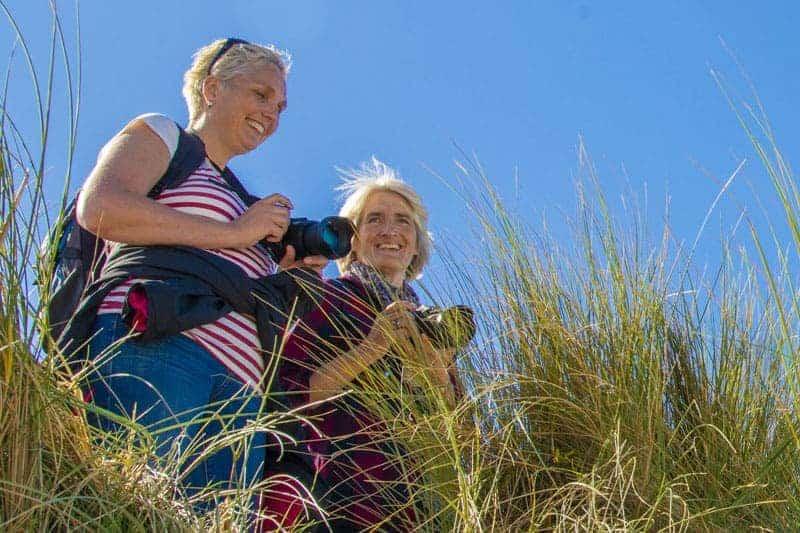 Fotoreizen Ameland - Inge en Arianne