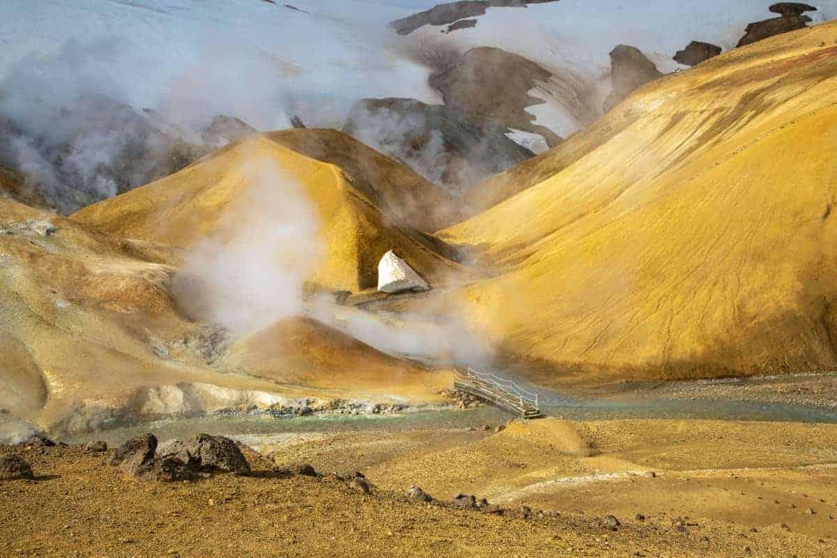 Fotoreizen IJsland stoompluimen bij Kerlingarfjoll
