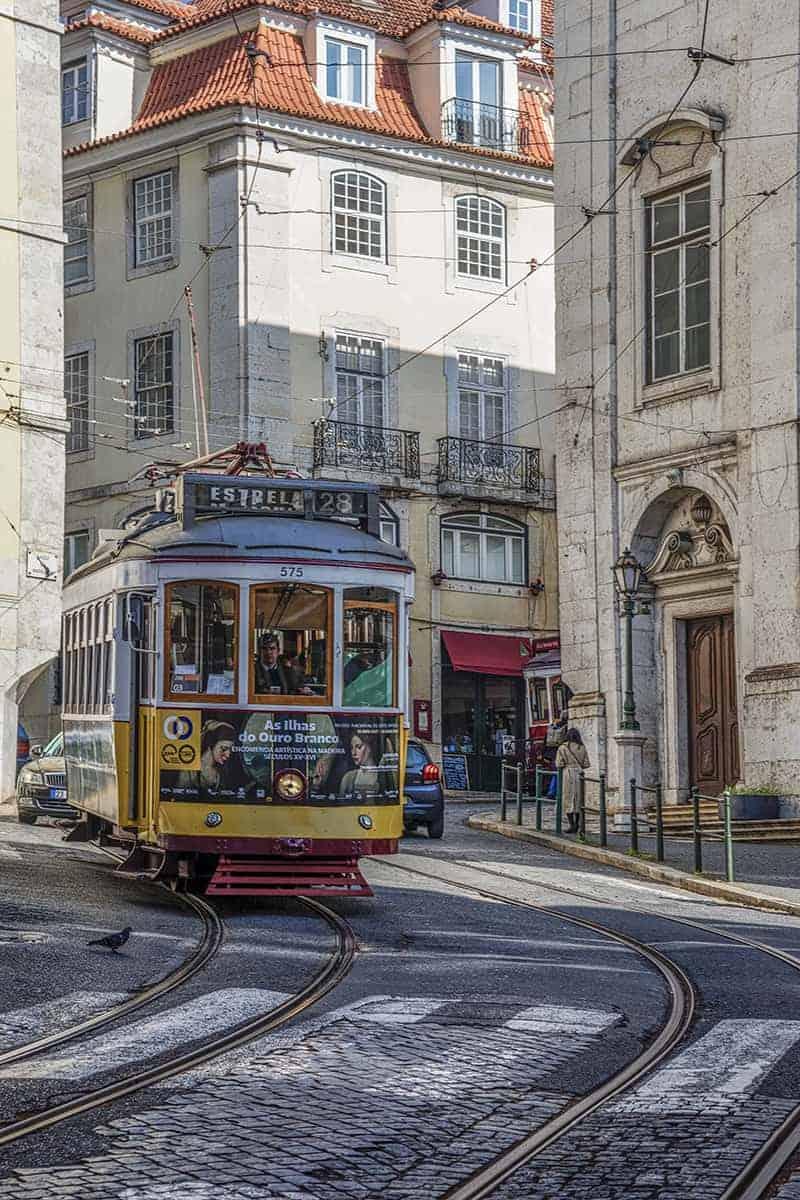 Fotoreizen Lissabon Portugal 74 Tram