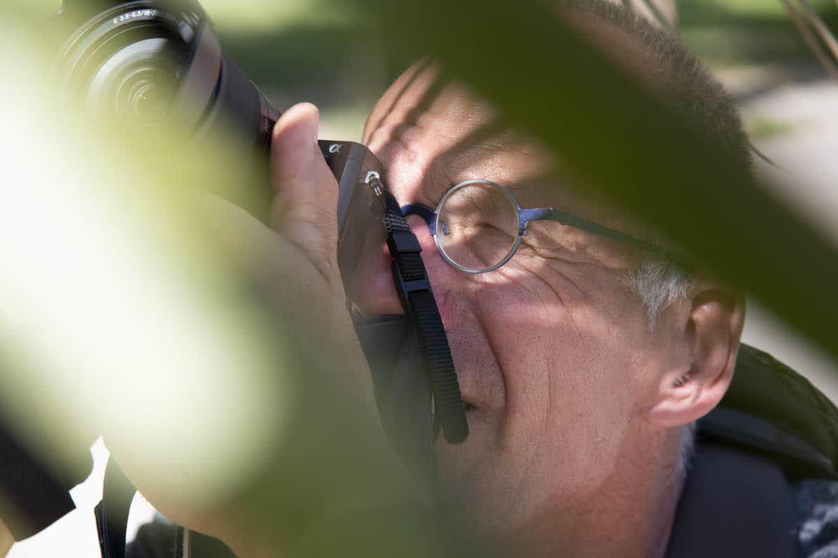 Fotoreizen Valencia Roelf in de palmbladeren