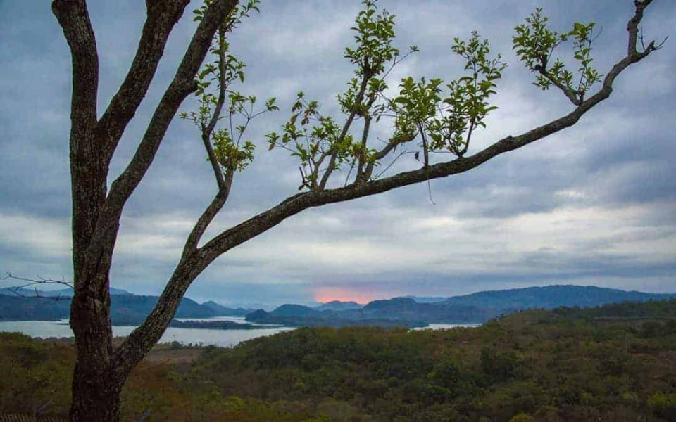 Fototips - El Salvador - zonsopkomst Suchitoto Suchitlanmeer