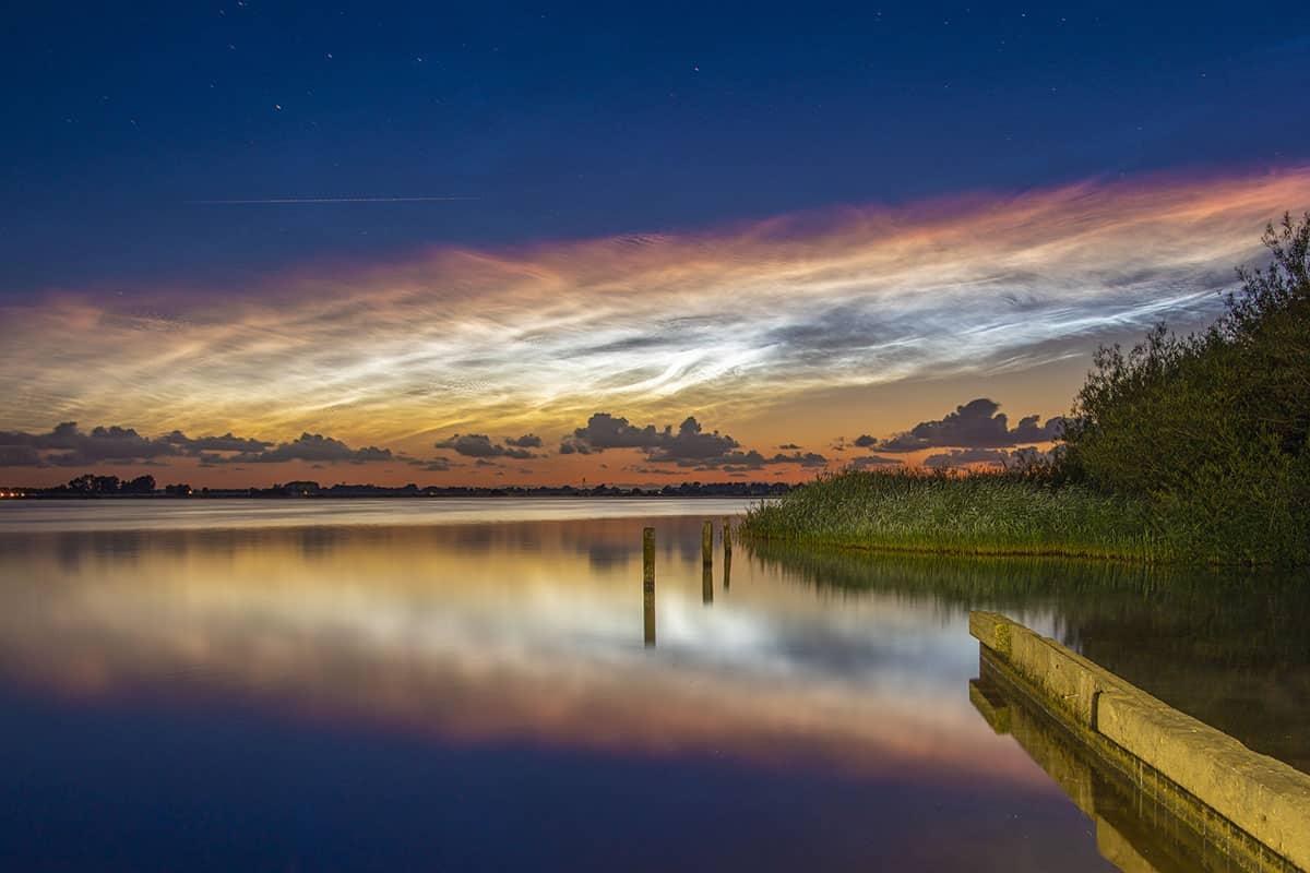 Fototips Lichtende nachtwolken