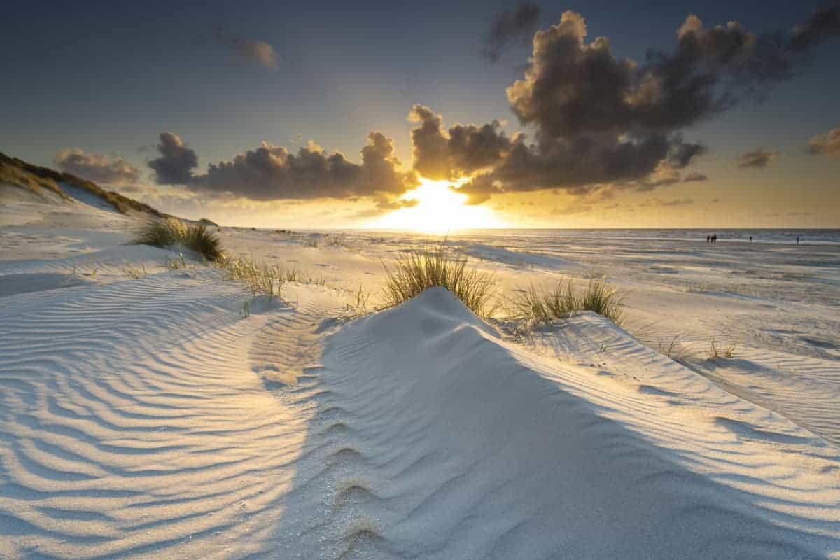 Zonsondergang Nes tijdens het Fotoweekend Ameland