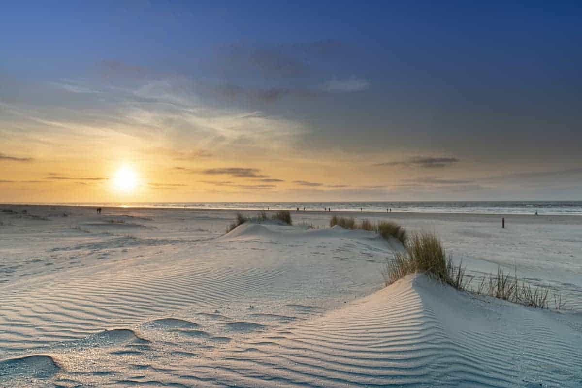 Fotoweekend Ameland zonsondergang bij Nes