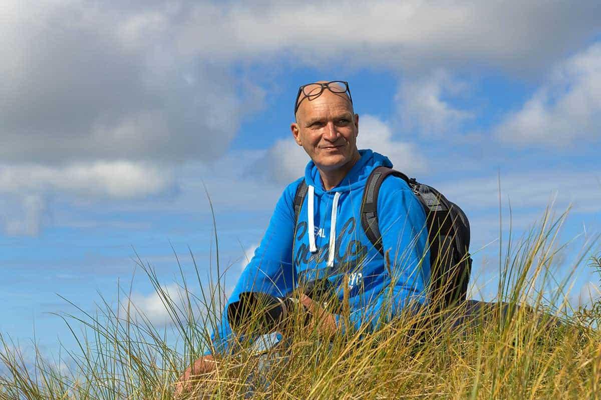 Fotoweekend Ameland Willem in het helmgras