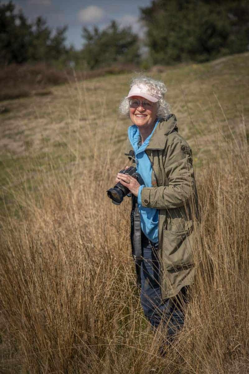 Lia op Kampina tijdens Fotoweekend Brabant