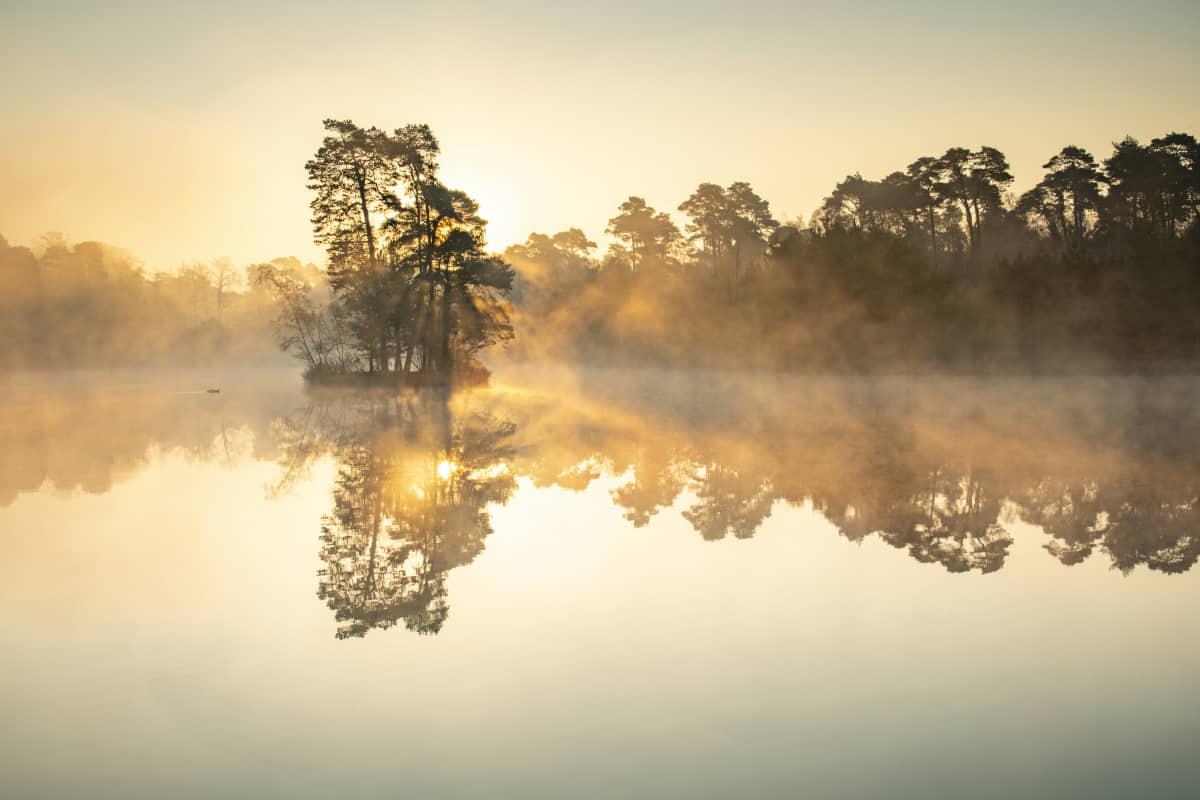 Zonsopkomst Van Esschenven Fotoweekend Brabant