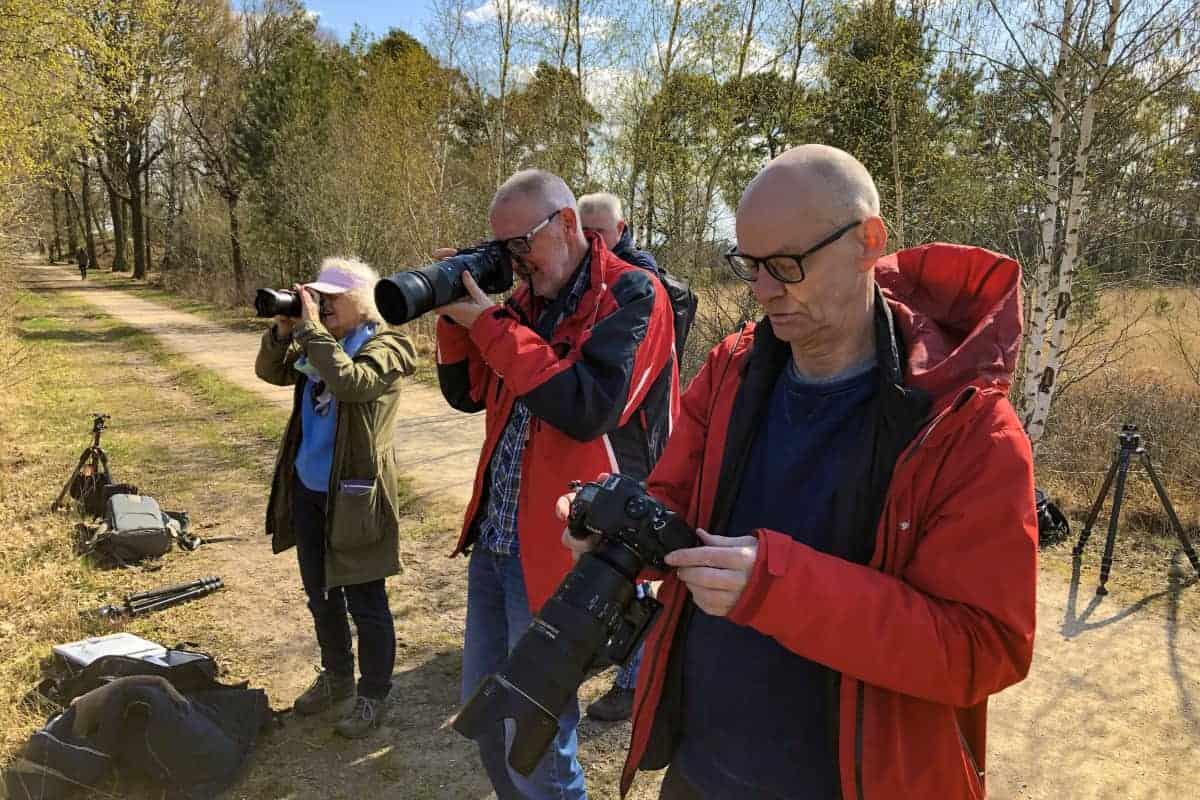 Fotoweekend Brabant deelnemers Kampina