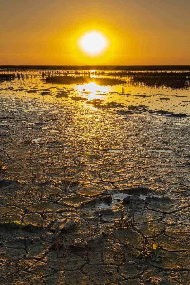 Zonsondergang Emmapolder Fotoreizen Nederland