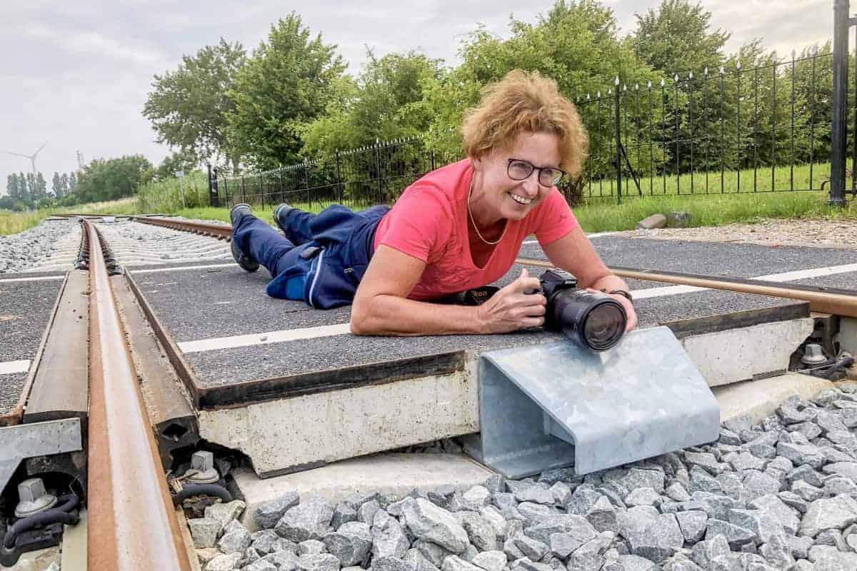 Fotoweekend Groninger Waddenkust - Lien op de rails