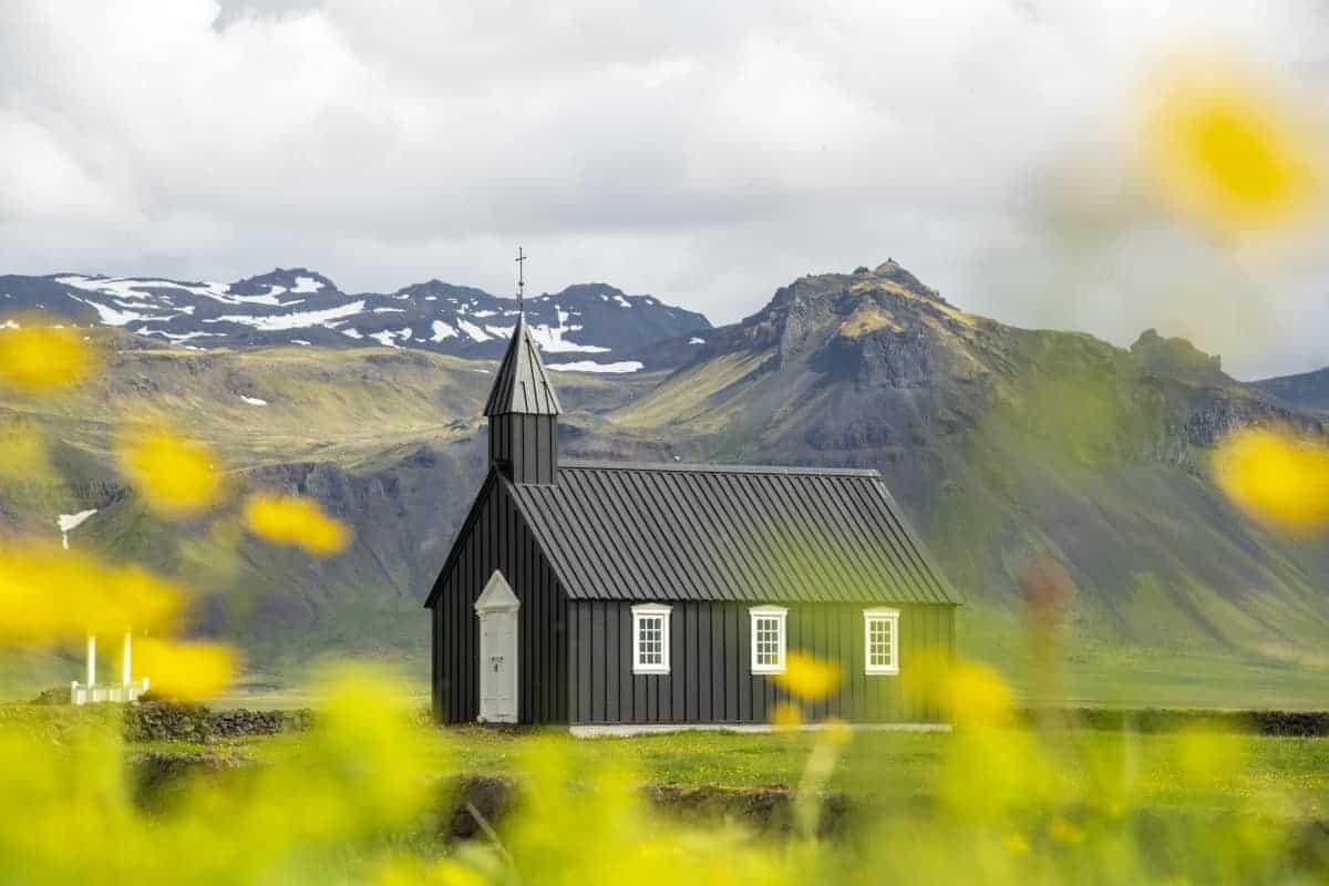 Kerkje Budir Snaefellsness