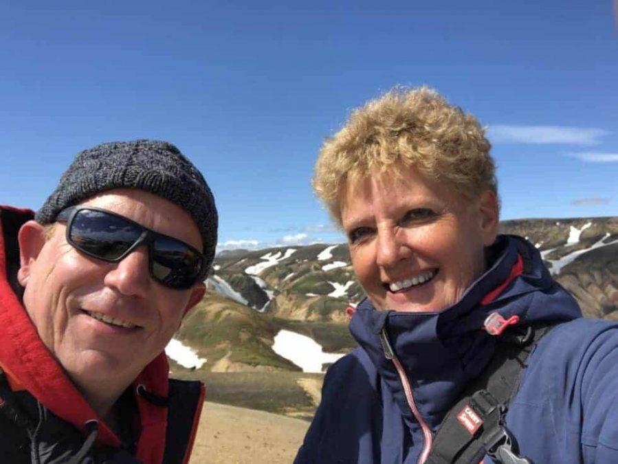 Patrick Gijsbers en Yolanda Wals
