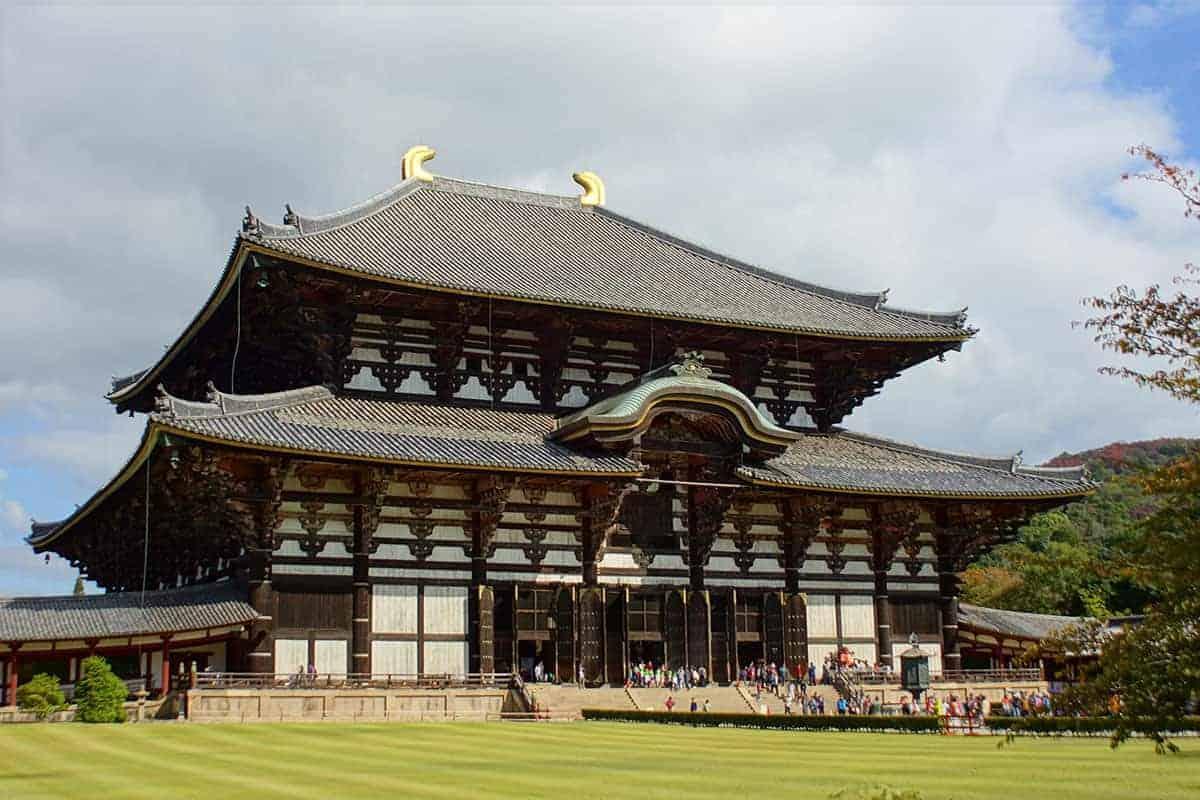 Tempelcomplex in Nara