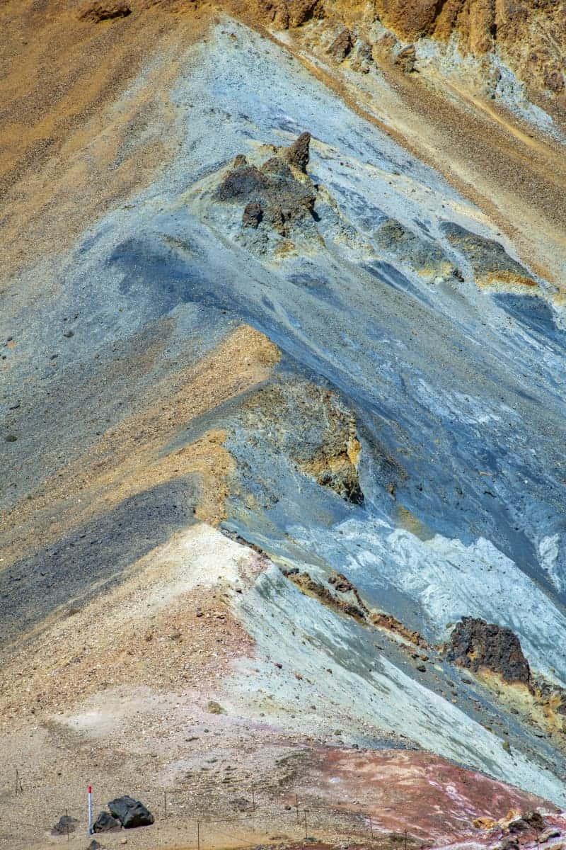 Vele kleuren in Landmannalaugar tijdens fotoreizen IJsland Zomer