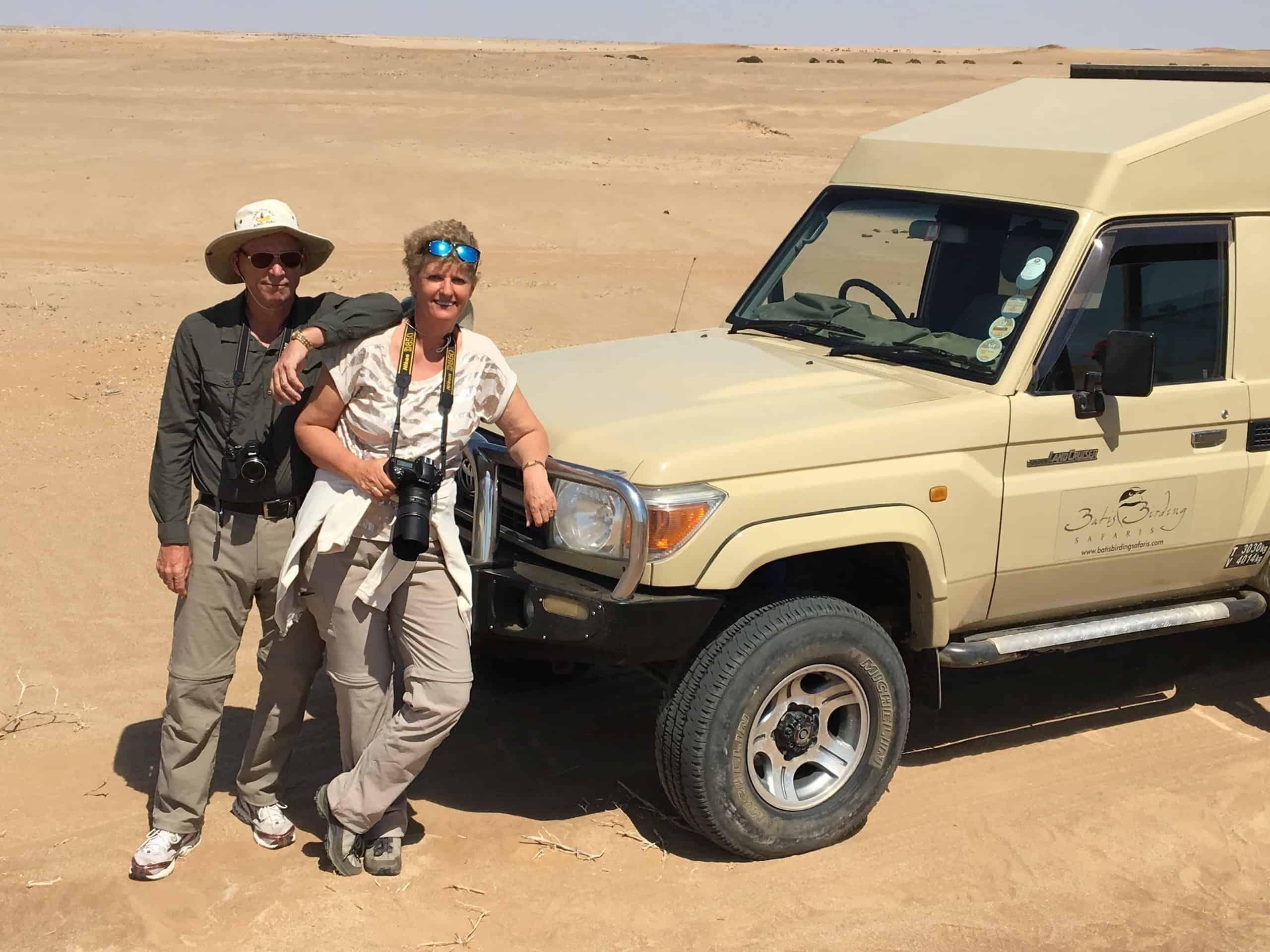 Yolanda Wals van Fotografie-reizen.nl voor jeep